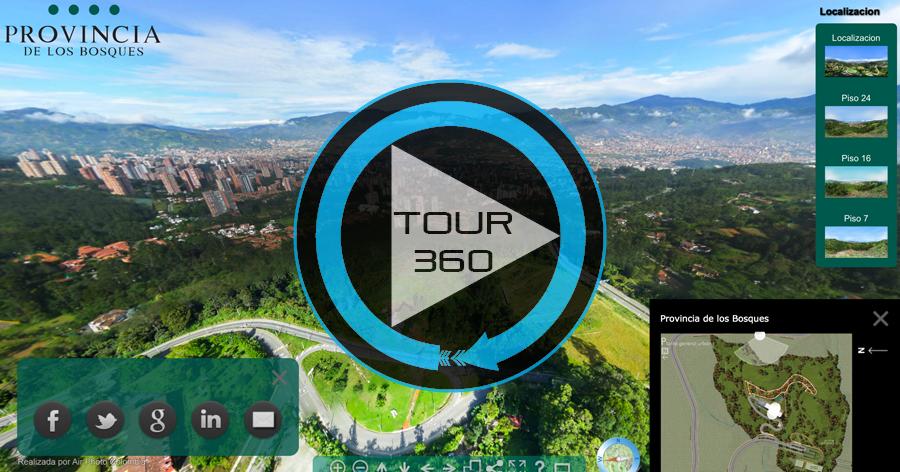 Get Adobe Flash player to visualize the Virtual Tour : Provincia de los Bosques Tour Virtual de Air Photo Colombia.